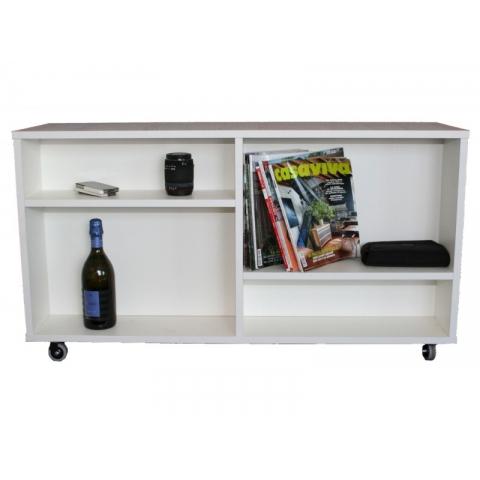 Mobile porta tv e porta prolunghe con ruote - Consolle porta tv ...